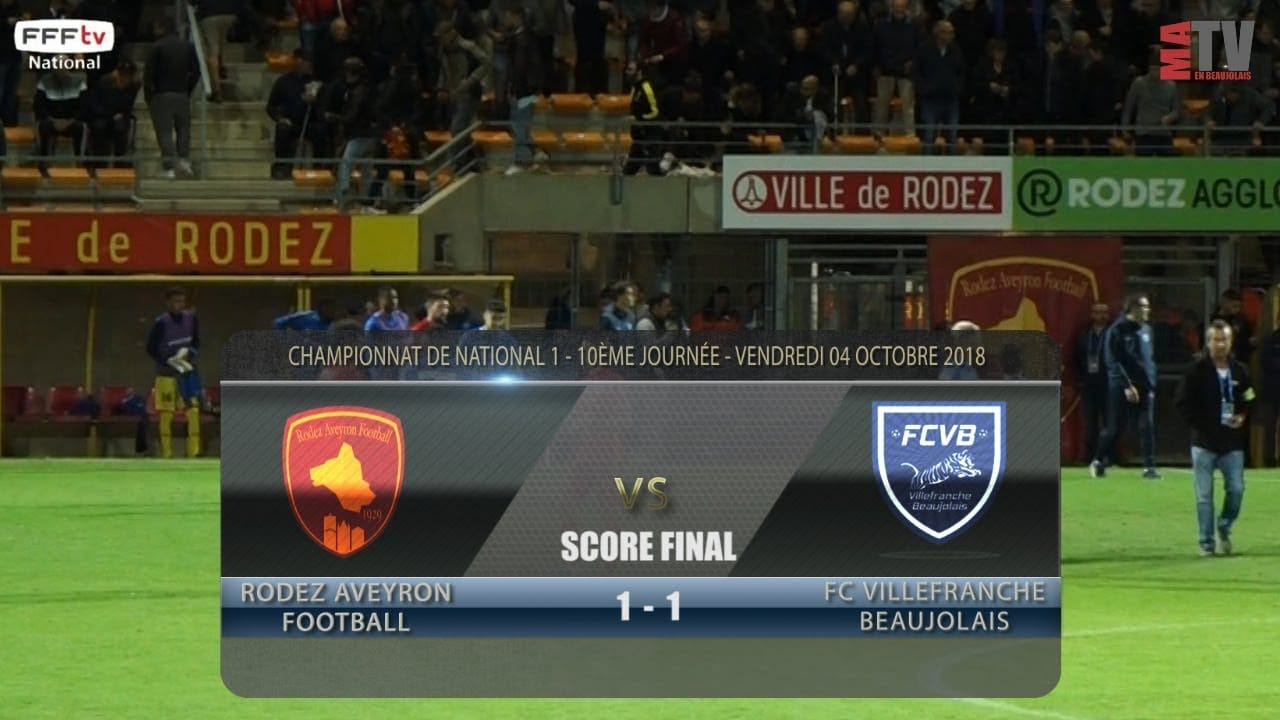 Foot - Rodez vs FCVB 04/10/2018
