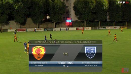 Foot - SC Lyon vs FCVB  21/08/2020