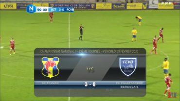 Foot – SC Toulon vs Villefranche 21/02/2020