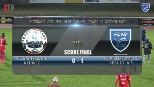 Foot – St Louis Neuweg / FCVB – 28/10/2017