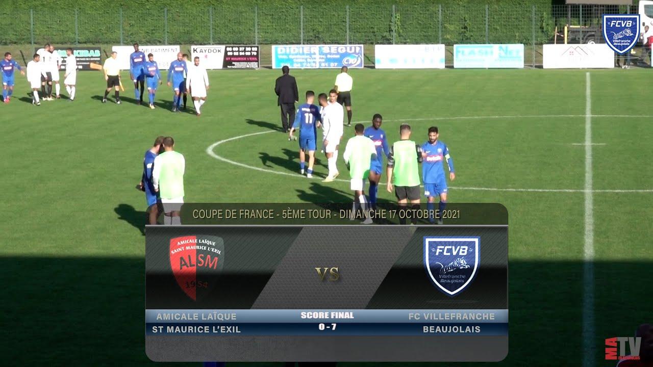 Foot - St Maurice l'Exile vs FCVB 17/10/2021