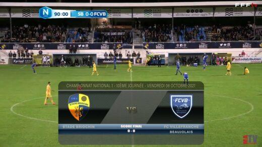Foot - Stade Briochin vs FCVB 08/10/2021