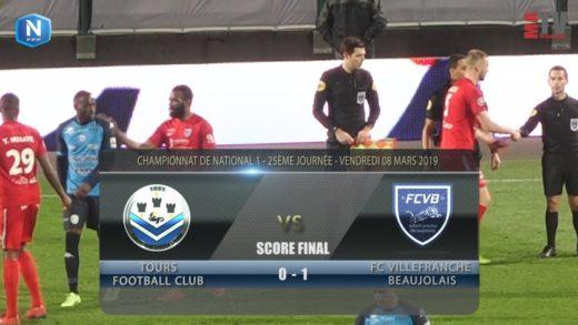 Foot - Tours FC vs FCVB  08/03/2019