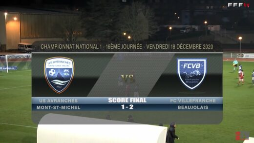 Foot - US Avranches vs FCVB 18/12/2020