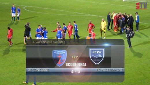 Foot - US Concarneau vs FCVB  21/09/2018