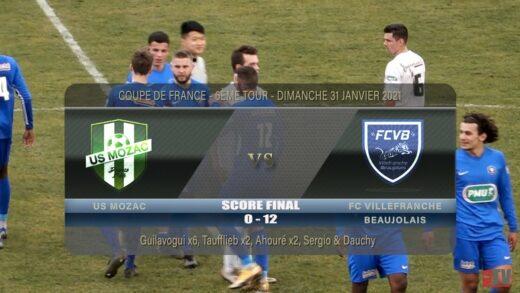 Foot - US Mozac - FCVB - Coupe de France 6ème tour