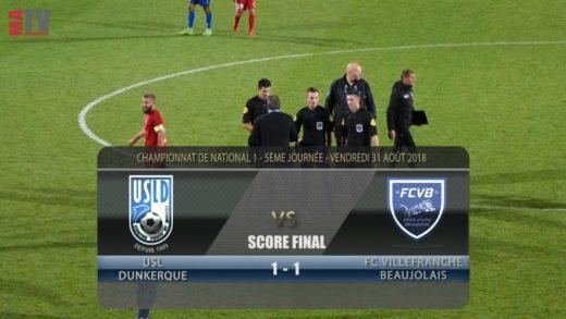 Foot - USL Dunkerque vs FCVB - 31/08/2018