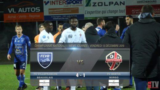 Foot - Villefranche vs FC Bastia Borgo 13/12/2019