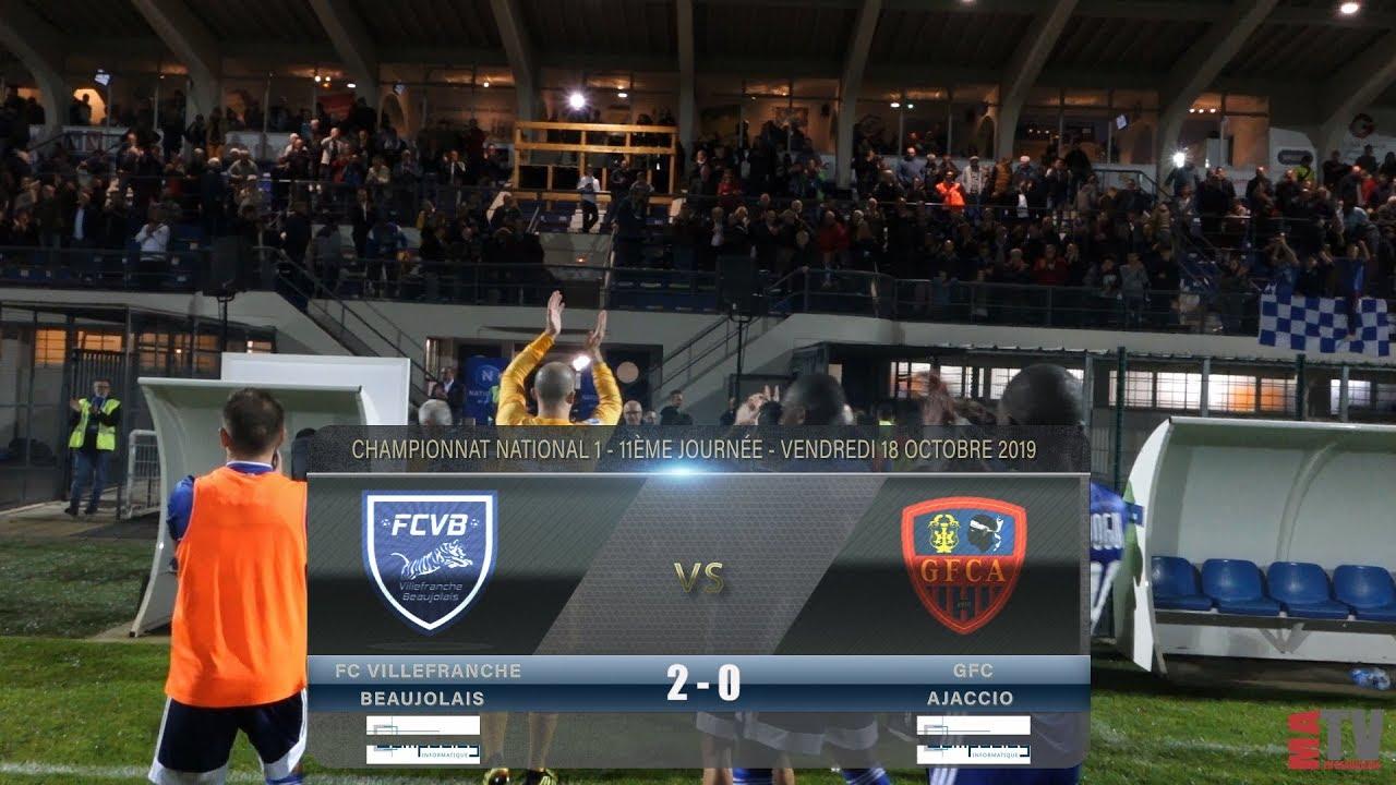 Foot - Villefranche vs GFC Ajaccio 18/10/2019