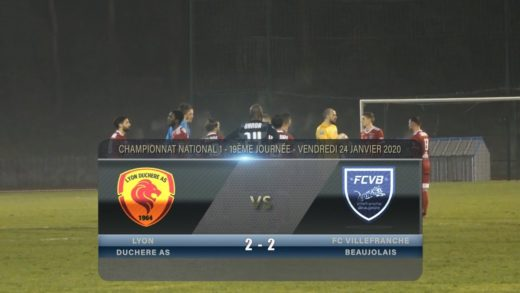 Foot - Villefranche vs La Duchère AS