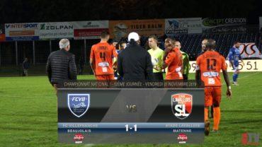 Foot – Villefranche vs Laval 02/11/2019