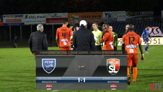 Foot - Villefranche vs Laval 02/11/2019