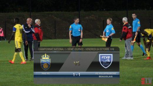 Foot - Villefranche vs Pau FC