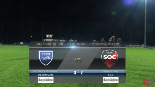 Foot - Villefranche vs Quevilly-Rouen 31/01/2020