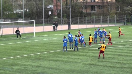 Football – FCVB / AS SAINT PRIEST – Coupe Gambardella – 7 décembre 2014