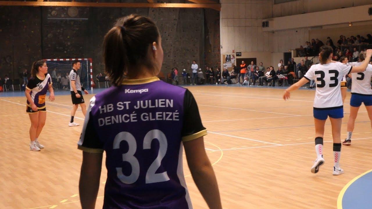 Handball - Les Violettes - Un match contre la Mucoviscidose