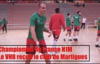 Handball – Villefranche Handball Beaujolais vs Martigues – 23/09/2017