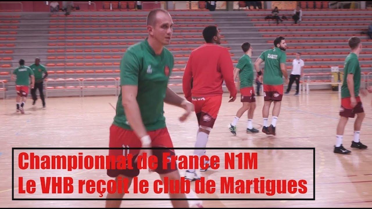 Handball - Villefranche Handball Beaujolais vs Martigues - 23/09/2017