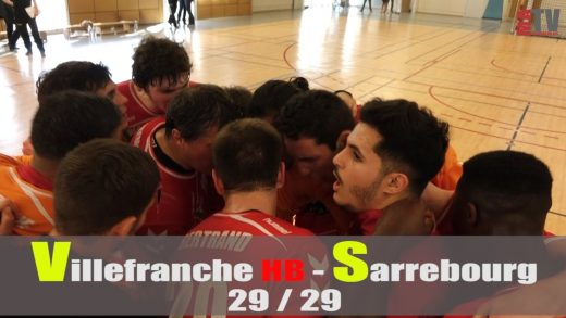 Handball – VILLEFRANCHE HB – SARREBOURG
