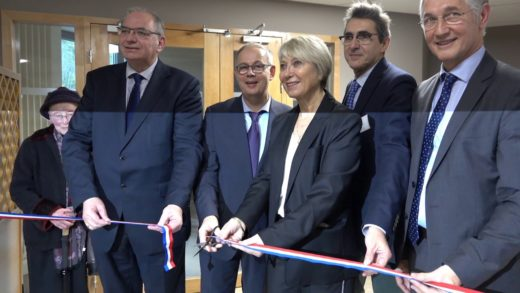 Inauguration de l'Hôpital de Beaujeu