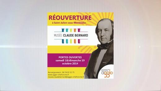 Inauguration du Musée Claude Bernard