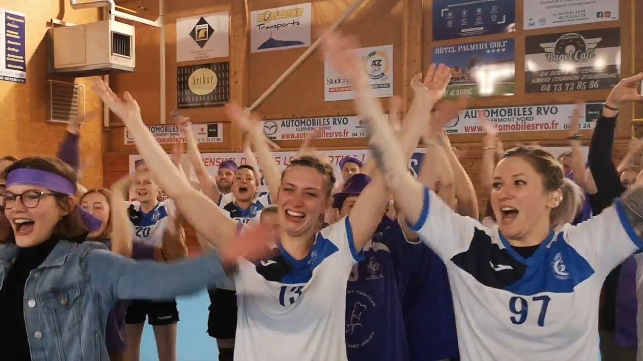 Handball - Les Violettes en Finale à Bercy
