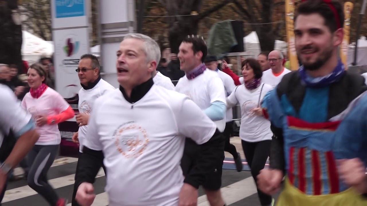 Marathon du Beaujolais 2018 - Le relais des élus de l'Agglo