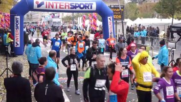 Marathon du Beaujolais – La ligne d'arrivée