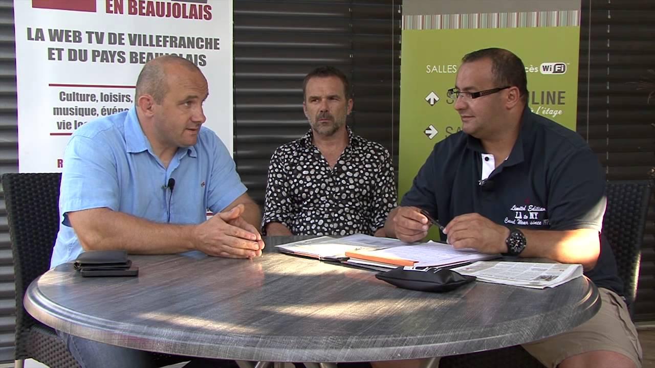 Le Cercle Sportif Villefranche Rugby avec Stéphane Narmand