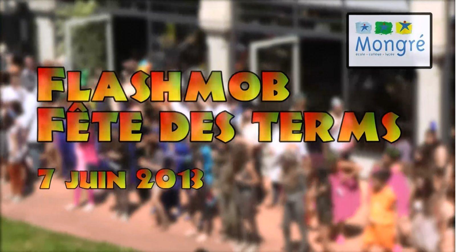 Flashmob des terminales de Montgré