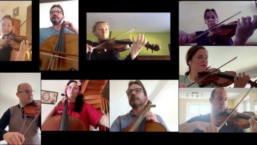 Musique - Cordes en Calade - Ode à la joie, tous à la maison