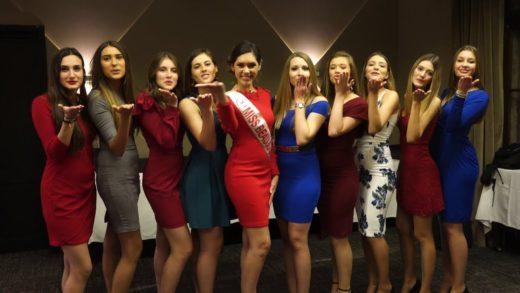 Présentation des candidates à Miss Beaujolais 2018
