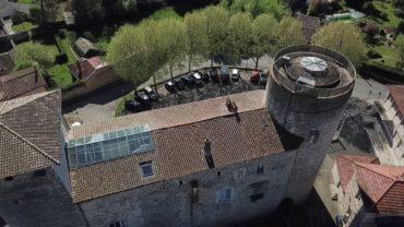 Restauration du Château des Tours à Anse