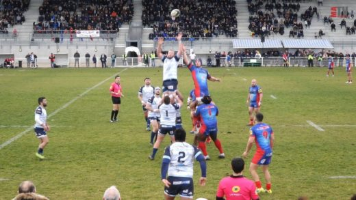 Rugby - CSV vs AS Macon 16/02/2020