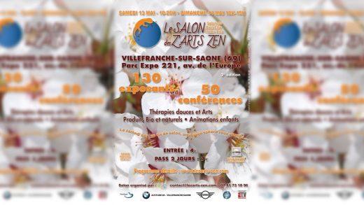 Salon des Z'Arts Zen à Villefranche les 13 et 14 mai 2017