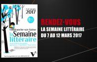 Semaine Littéraire 2017 – Présentation avec Béatrice Berthoux