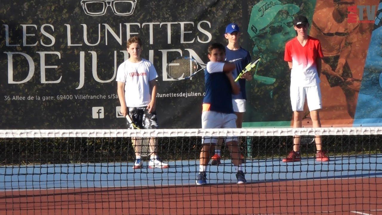 Tennis - Reprise des entraînements au Tennis Club de Villefranche