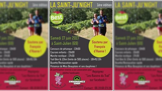 Trail – La St JU' NIGHT 2017
