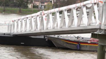 Travaux de la halte Fluviale Villefranche 2019
