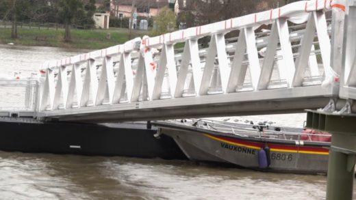 Les travaux de la halte Fluviale de Villefranche presque terminés