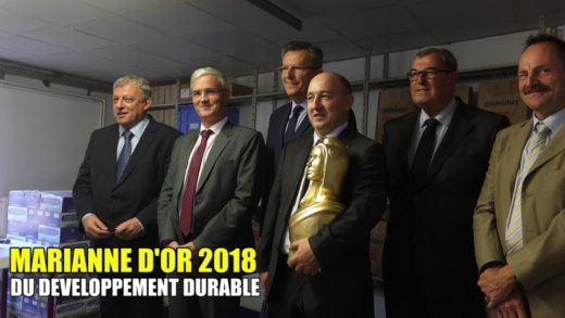 Une Marianne d'Or pour Olivier Mandon et son eau Hydroxydase