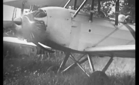 Villefranche sur Saône 1934 Aérodrome Le Colombier