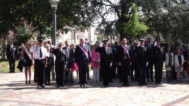 Villefranche-sur-Saône – Commémoration du 73e anniversaire de la libération