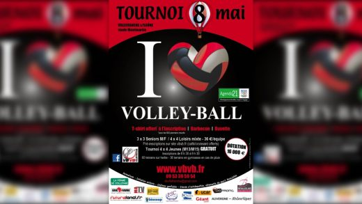 Volley-ball – Tournoi du 8 Mai 2016