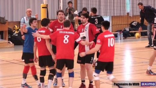 Volley Ball - VBVB - ASUL LYON 13 12 2015