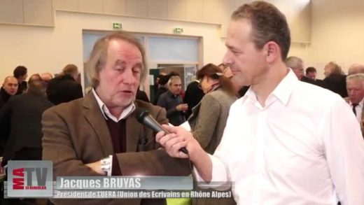 1er Salon du Livre à Arnas - Interview de Jacques Bruyas