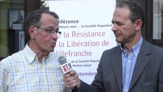3 sept 1944 Libération de Villefranche - Entretien avec Michel Lebail