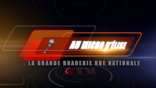Au Micro d'Élise - Braderie 2014 rue Nationale à Villefranche