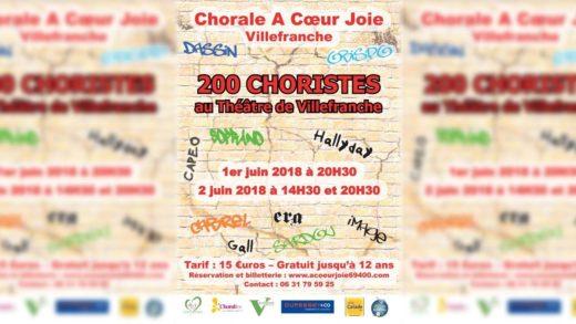 Chorale à Cœur Joie - Présentation du Spectacle 2018