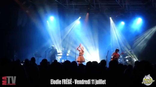 Concert Elodie Frégé - Un été côté Saône - 11 juillet 2014